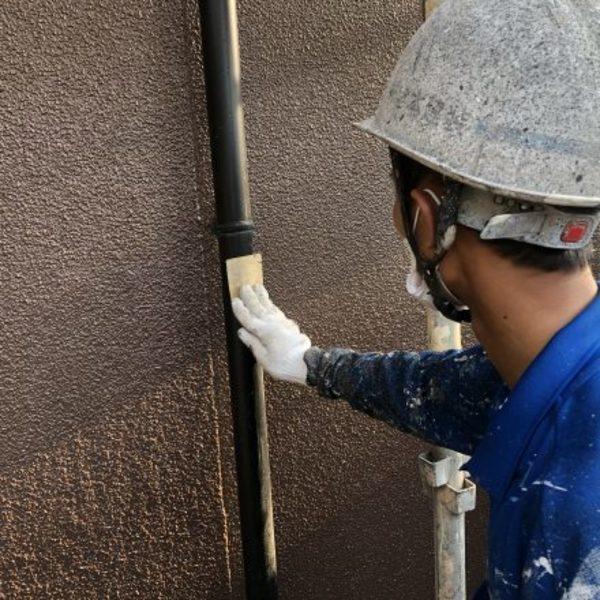 熊本市北区・外壁塗装(付帯部塗装工事)