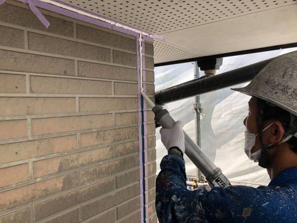 熊本県上益城郡御船町・外壁塗装・シール工事