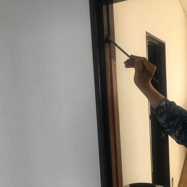 熊本市中央区南熊本・内部塗装工事・木部塗装