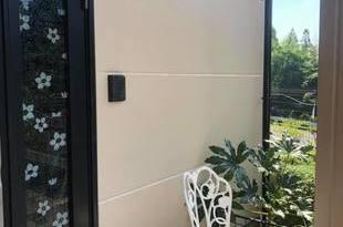 熊本市北区梶尾 外壁シリコン塗装仕上げ(3回塗り)下地処理込の施工後画像