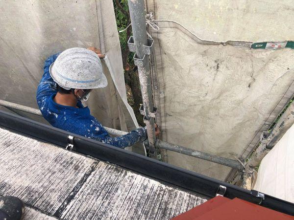 熊本県上益城郡御船町・外壁塗装・台風対策