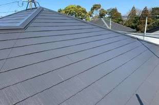 熊本市中央区国府にて屋根塗装工事‐宮本建装の施工後画像