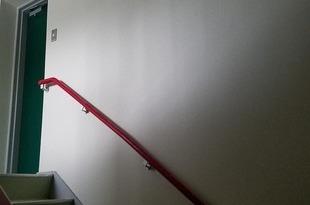 熊本県益城町某工場内部手摺取り替え・ジプトン張替工事の施工後画像