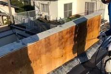 熊本県合志市須屋 住宅 外壁内除カビ工事 下地から綺麗にしました。