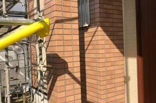 熊本市南区田井島 住宅 外壁フッ素クリヤーにて仕上げました。の施工後画像