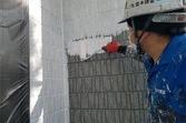 熊本市東区長嶺 外壁塗装 セラミックシリコンにて仕上げました(3工程)