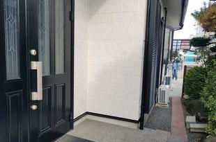熊本市東区長嶺 外壁塗装 セラミックシリコンにて仕上げました(3工程)の施工後画像