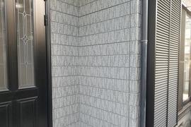 熊本市東区長嶺 外壁塗装 セラミックシリコンにて仕上げました(3工程)の施工前画像