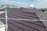 熊本県熊本市東区健軍 屋根塗装 今回の下塗り厚膜タイプのウルトラルーフプライマー を使用!