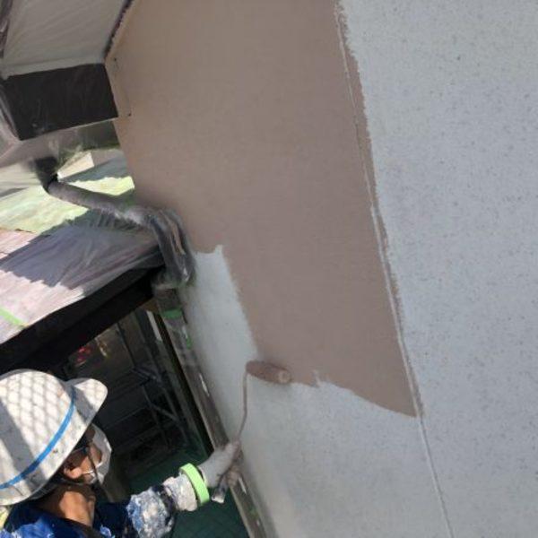 熊本県荒尾市・外壁塗装(プライマー)