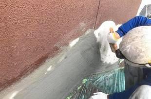 熊本県熊本市北区梶尾町の熊本地震被災外壁改修工事 続けて外壁塗装の施工後画像