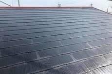 熊本市北区梶尾町の屋根雨漏り補修後ヤネフレッシュ塗装(屋根塗装)工事