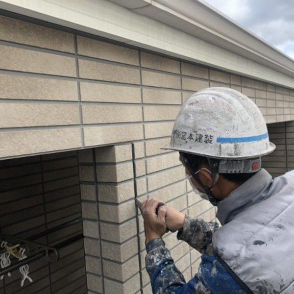 熊本市大江・外壁塗装工事(2成分形変性シリコーン)