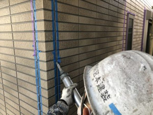 熊本市大江・外壁塗装(2成分形変性シリコーン)