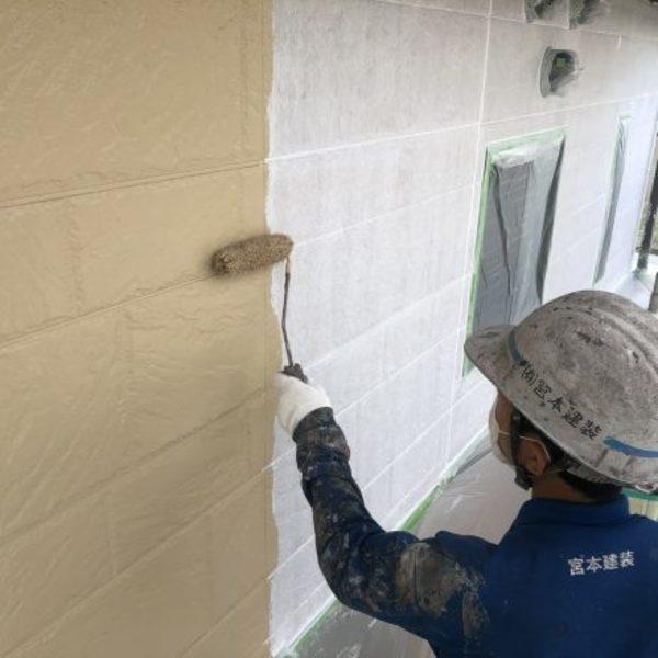 熊本県球磨郡あさぎり町・外壁塗装(低汚染型一液水性セラミックシリコン樹脂塗料)