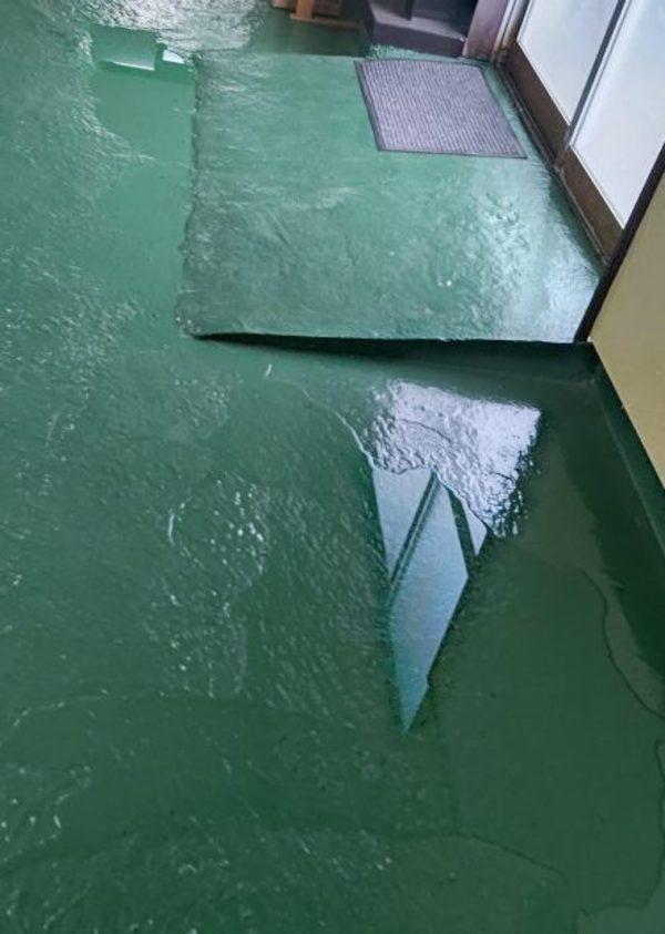 熊本県東区・工場雨漏れ調査