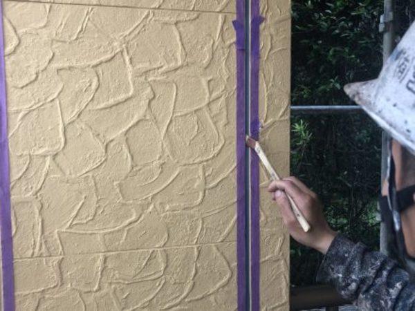 熊本市東区小山・外壁塗装(シールプライマー塗装)