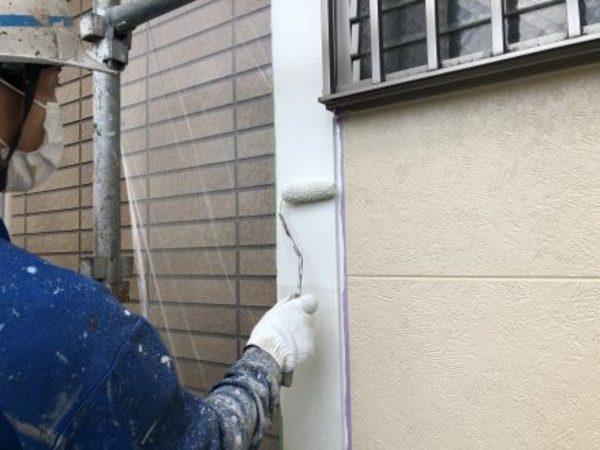 熊本市大江・外壁塗装(弱溶剤2液型シリコン塗料)