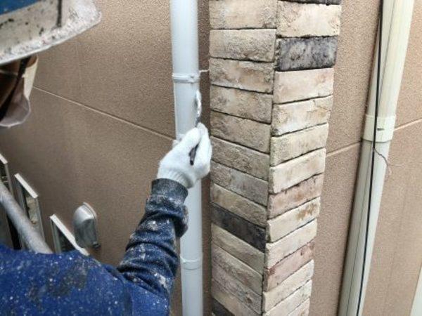熊本市西区二本木・外壁塗装(ターペン可溶形ウレタン樹脂塗料)