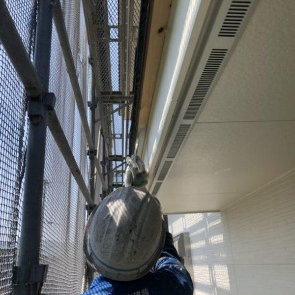 熊本市北区植木町・広子舞塗装(水性艶消し塗料)