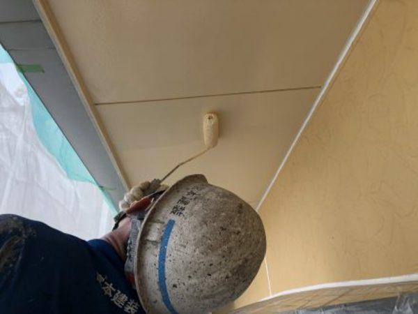 熊本市東区小山・外壁塗装(アクリル樹脂系非水分散形塗料)