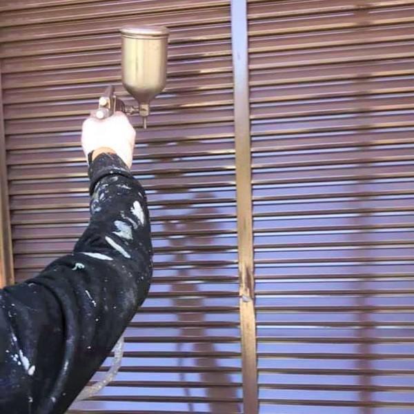 戸袋・雨戸の塗り替え塗装の内訳(動画含む) 宮本建装