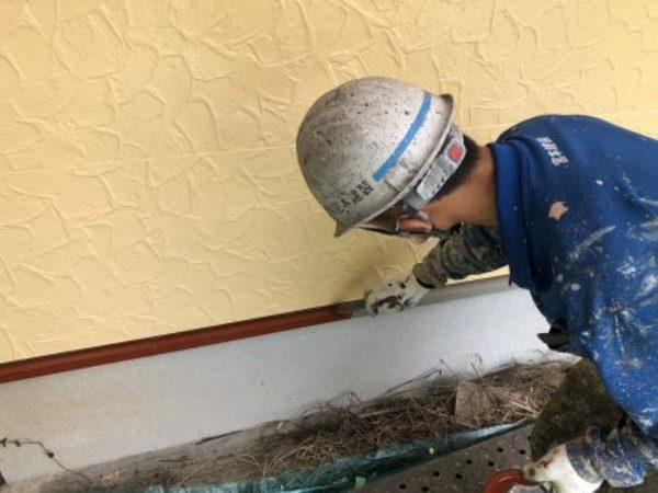 熊本市東区小山・外壁塗装工事(弱溶剤可溶変性エポキシ樹脂系万能下塗塗料)