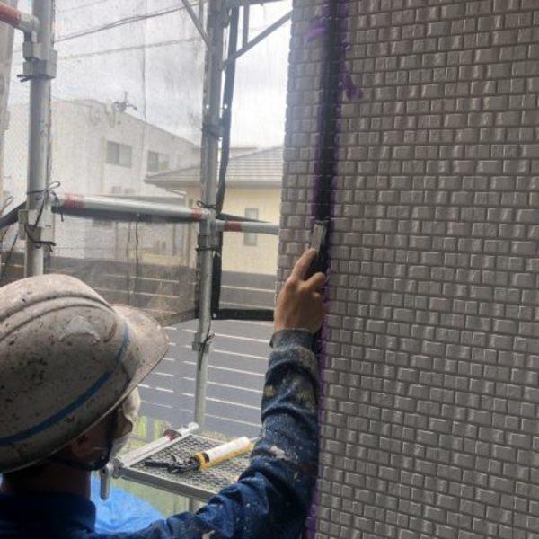 熊本県上益城郡・外壁塗装(シーリング工事)