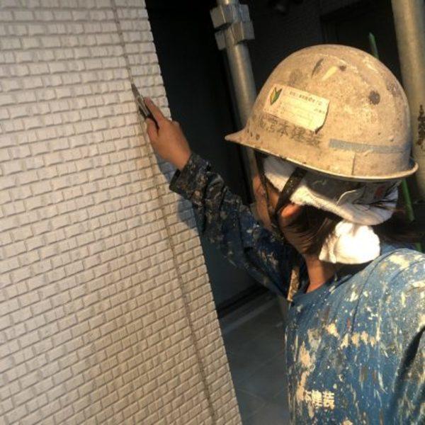 熊本県嘉島町・外壁塗装(シーリング工事)