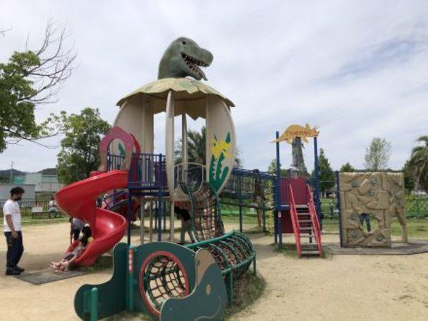子供と公園で、、発見!