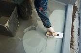 熊本県東区佐土原の会社屋上防水(階段踊場のウレタン防水)-宮本建装防水-