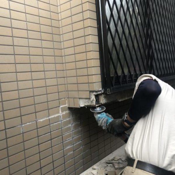 熊本市北区植木・外壁タイル部分補修工事