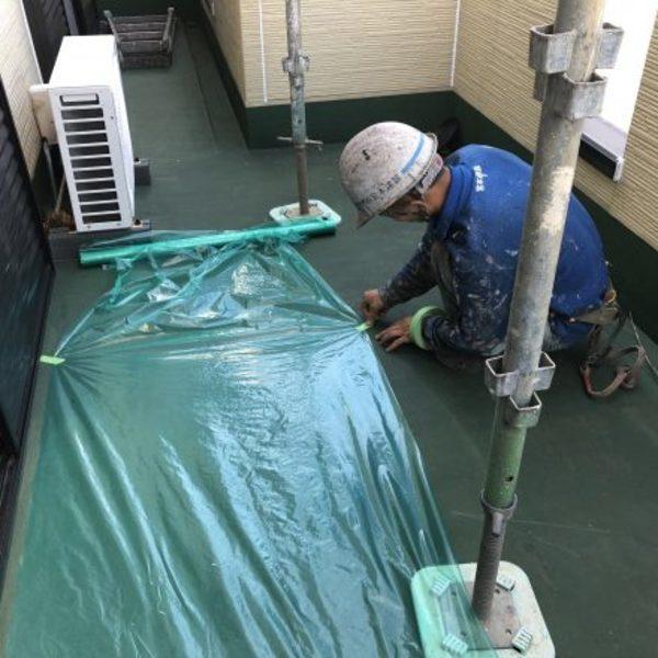 熊本市北区植木・シーリング打ち替え完了!