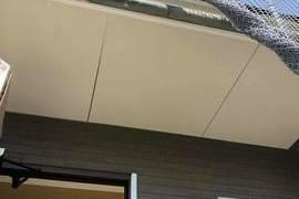 熊本市東区新築軒天井塗装!養生をしっかりして作業を行いました。ー宮本建装ーの施工前画像